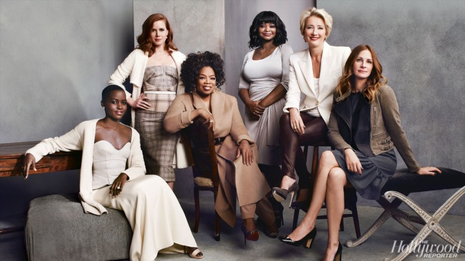 Oscar Actresses@Hollywood Reporter Roundtable 2014