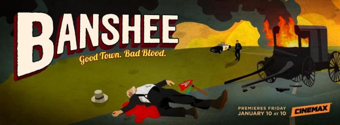 "Banshee "" Small town, Bad Blood"" season 3 Teasing Photo"