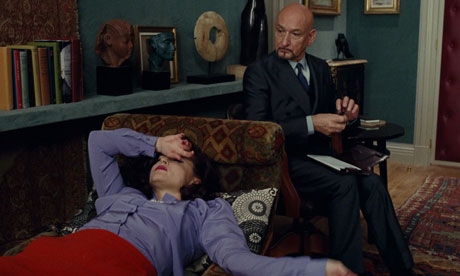 Ben Kingsley and Helena Bonham Carter appear in Polanski's A Therapy for Prada