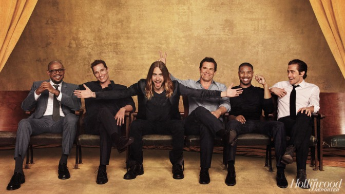 Oscar Actors@Hollywood Reporter Roundtable 2014