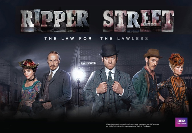 Ripper Street – Season 3 Shooting almost finished