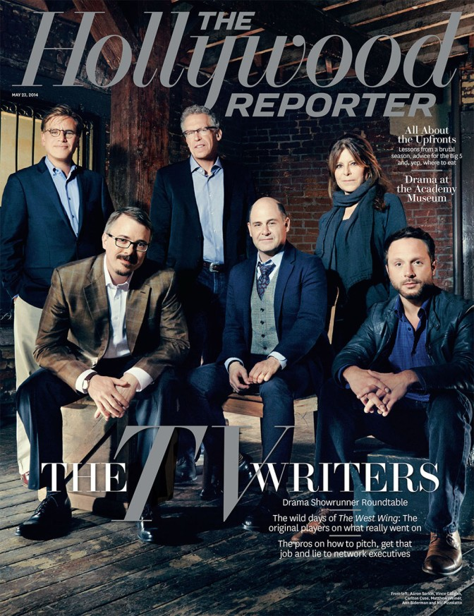 Showrunners@Hollywood Reporter Roundtables 2014
