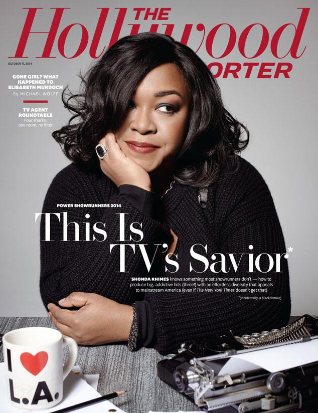 Shonda Rhimes @ Hollywood Reporter
